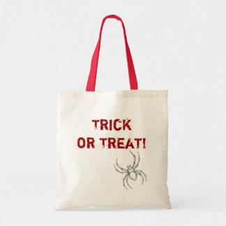 Bolso del truco o de la invitación de la araña del bolsa