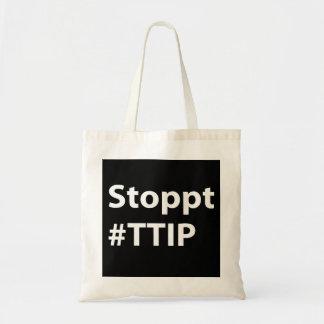 Bolso del #TTIP de Stoppt Bolsa Tela Barata