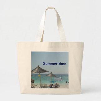 Bolso del verano bolsa tela grande