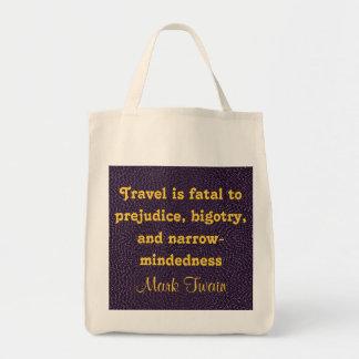 bolso del viaje bolsa tela para la compra