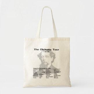 Bolso del viaje de Dickens Bolsa Tela Barata