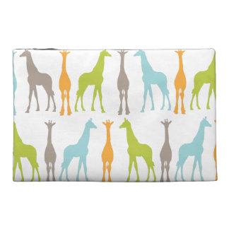 Bolso del viaje de la silueta de la jirafa