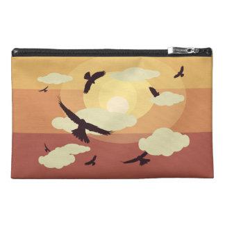 Bolso del viaje de los pájaros y de las nubes