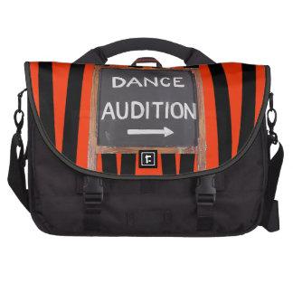 Bolso del viajero de la audición de la danza bolsas de portátil