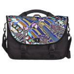 Bolso del viajero de la diva del arte pop bolsas de portatil