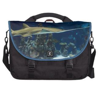 Bolso del viajero de la impresión de la vida marin bolsas de portatil