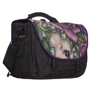 Bolso del viajero de la reina de la primavera bolsas para portatil