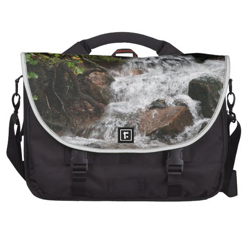 Bolso del viajero de la selva tropical bolsas de ordenador