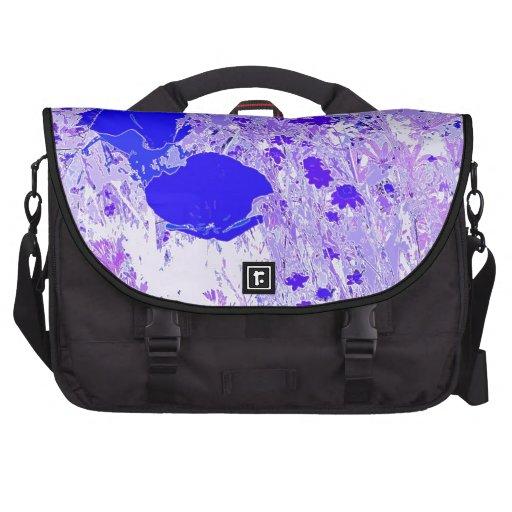 Bolso del viajero de las amapolas bolsa para ordenador
