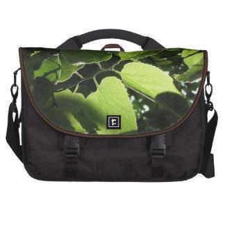 Bolso del viajero de las hojas bolsas de portátil