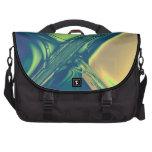 Bolso del viajero de las travesías del azul y del  bolsas de portátil