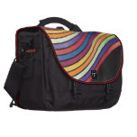 Bolso del viajero del arco iris bolsas para portatil