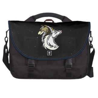 Bolso del viajero del carrito del logotipo del bolsas de ordenador