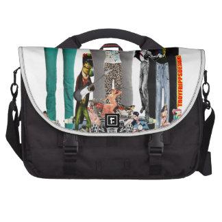 Bolso del viajero del carrito del mundo de la moda bolsas de portátil
