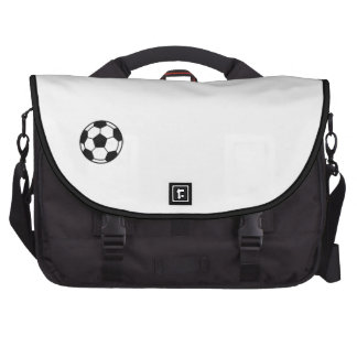 Bolso del viajero del logotipo del fútbol bolsa para ordenador