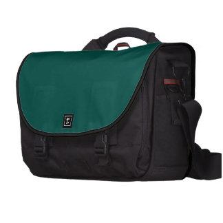 Bolso del viajero del ordenador portátil del negro bolsa de ordenador