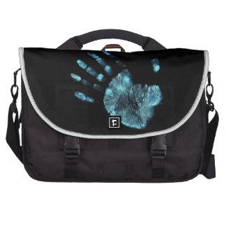 bolso del viajero, palma, palmprint bolsas de ordenador