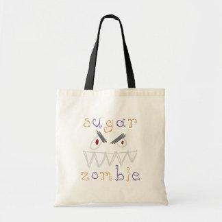 Bolso del zombi del azúcar bolsa tela barata