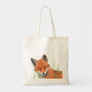 bolso del zorro rojo bolsa tela barata