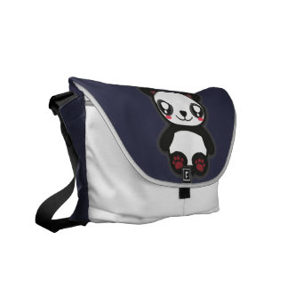 Bolso divertido de la panda de Kawaii Bolsas Messenger