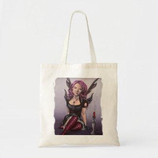 bolso dolorido de las ilustraciones del faery bolsas de mano