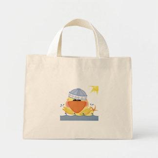 Bolso Duckie de la playa Bolsa Tela Pequeña