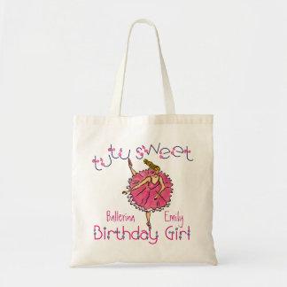 bolso dulce del chica del cumpleaños del tutú bolsas de mano