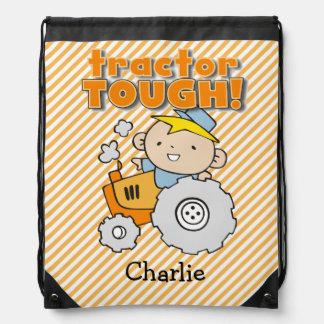 Bolso duro personalizado de la mochila del lazo