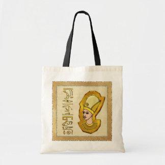 Bolso egipcio del arte popular de los Hieroglyphic Bolsa Tela Barata