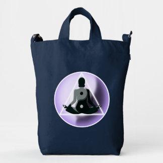 Bolso el   de la yoga Meditating Bolsa De Lona Duck