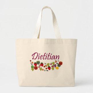 Bolso el dietético bolsa tela grande