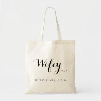 Bolso el | Wifey Bolsa Tela Barata