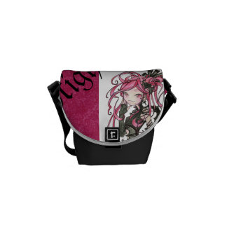 Bolso elegante del batcave gótico del lolita del c bolsas de mensajeria