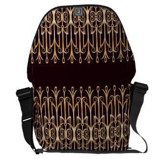 Bolso elegante del carrito del art déco bolsa de mensajería
