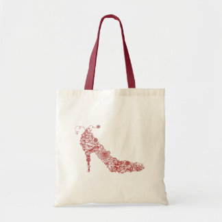 Bolso elegante del ~ del zapato bolsa tela barata