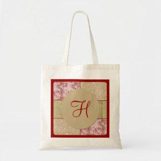 Bolso elegante lamentable del monograma del remien bolsa tela barata