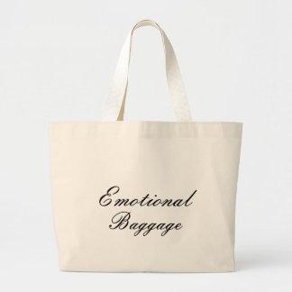 Bolso emocional del equipaje bolsa tela grande