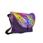 Bolso en colores pastel abstracto adaptable del ca bolsas de mensajería