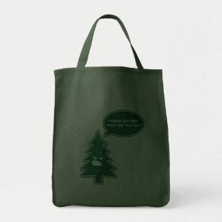 Bolso enojado del árbol bolsa