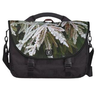 Bolso escarchado del viajero de los árboles de bolsas para ordenador