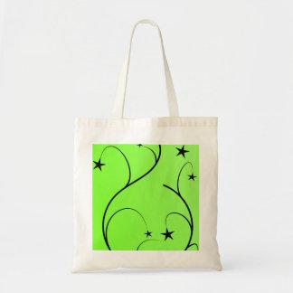 Bolso espiral verde de neón bolsa