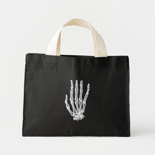 Bolso esquelético de Halloween de la mano Bolsas De Mano