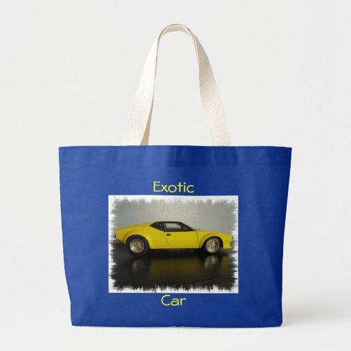 Bolso exótico del viaje en coche bolsas