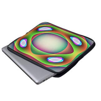 Bolso extranjero del ordenador portátil de la nave mangas portátiles