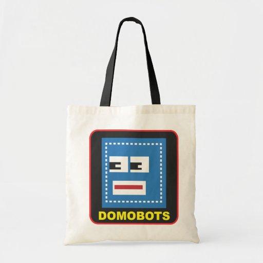 Bolso fácil lindo de Domobots Bolsa De Mano