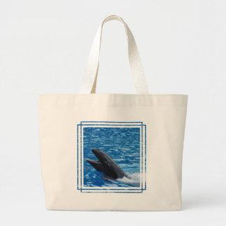 Bolso falso de la lona de la orca bolsa de mano