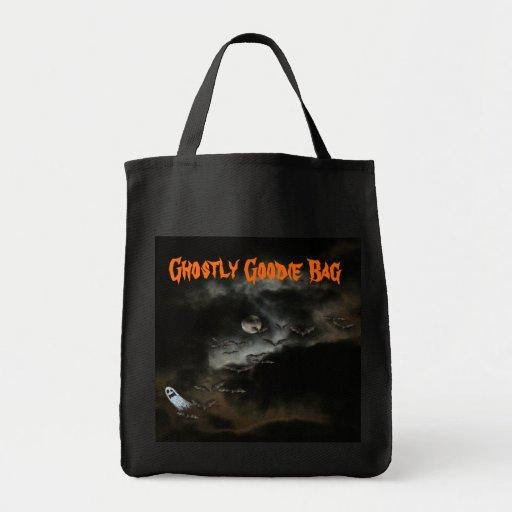 Bolso fantasmal/Halloween de la chuchería Bolsas