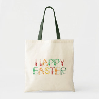 Bolso feliz de Pascua Bolsa Tela Barata