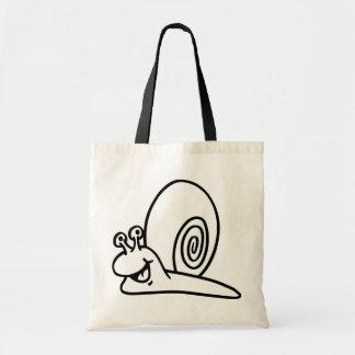 Bolso feliz del caracol bolsa de mano