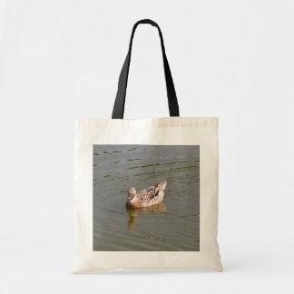 Bolso femenino del pato 3 del pato silvestre bolsa de mano